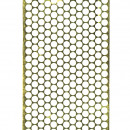 Perforated film, width 85 mm, length 46 m, gold
